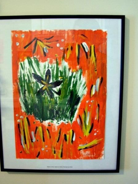 Displaying art work 3