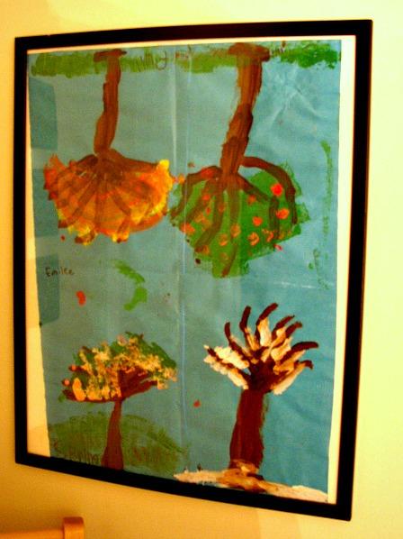 Displaying Art work