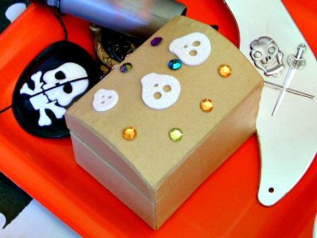 Pirate birthday party mini treasure