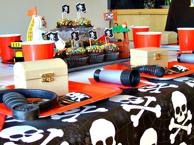 Pirate birthday party toys and gifts
