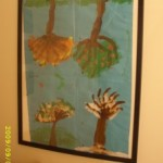 Displaying and Storing Kids Art Work and School Papers