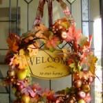 Five Minute/Five Dollar Fall Wreath