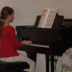 Emilee's First Piano Recital