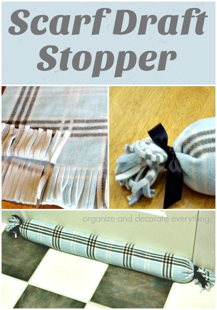fleece Scarf Draft Stopper