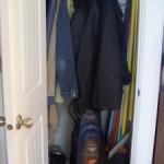 Transforming a Coat Closet Into a DVD Closet