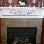 A Fireplace Mantel for Winter