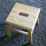 Little Painted Step Stool