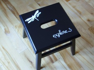 Spray Painted Furniture 006