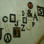 Family Letter Wall