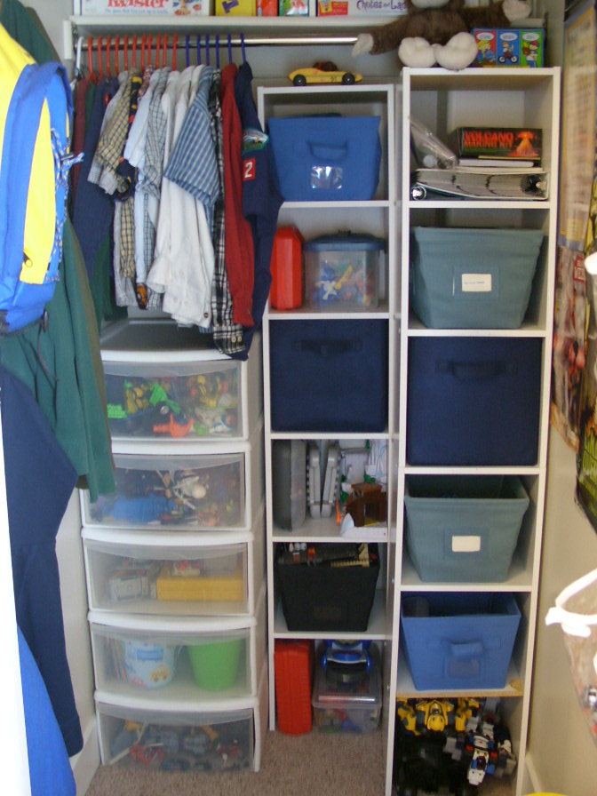 Boy Bedroom Storage: Organize And Decorate Everything