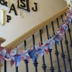 Patriotic Pinwheel Banner