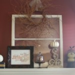 Fall-ish Mantel