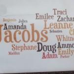 Wordle Wall Art