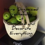 We're Organized Wednesday #12 with Gales Designs