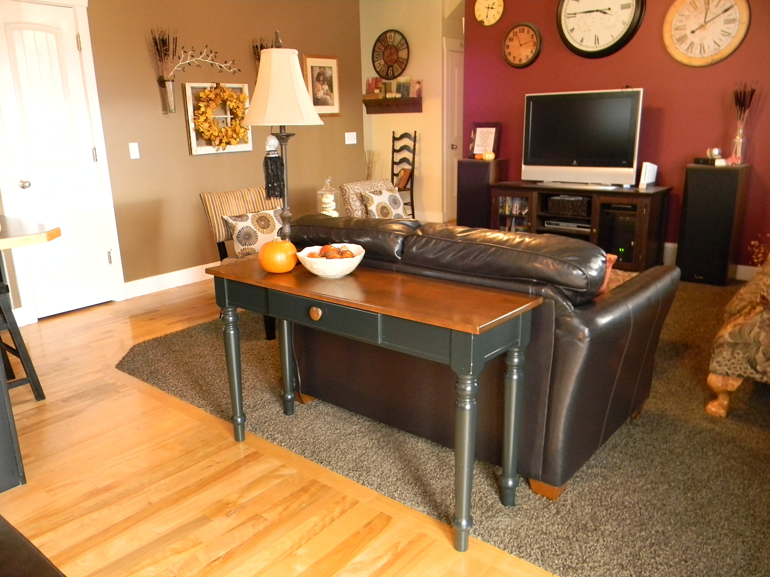 Sofa Table And Extra Dining Organize Decorate Everything