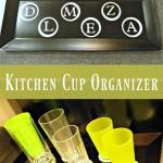 Kitchen Cup Organizer