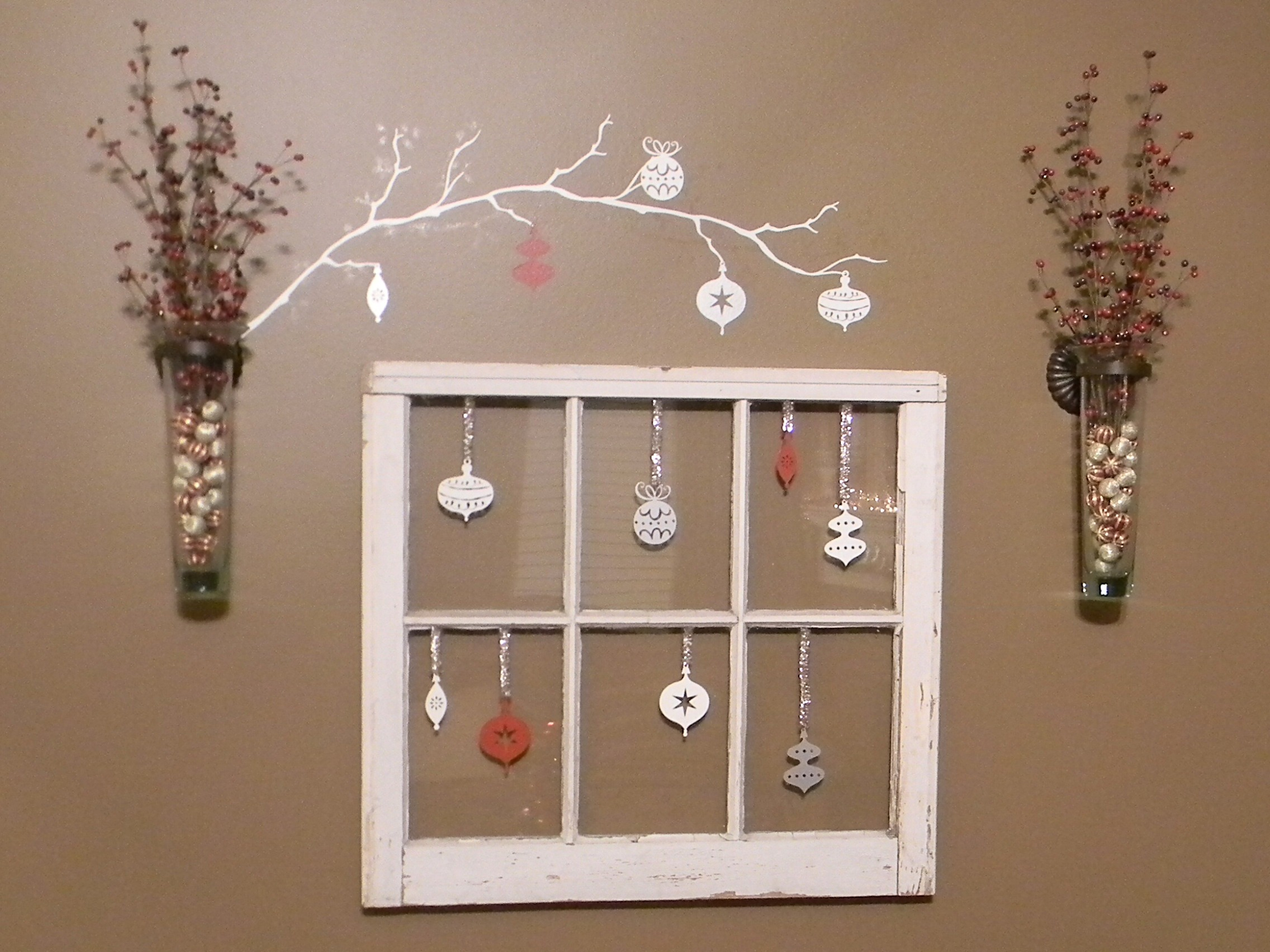 Christmas window organize and decorate everything - Decoraciones de paredes ...