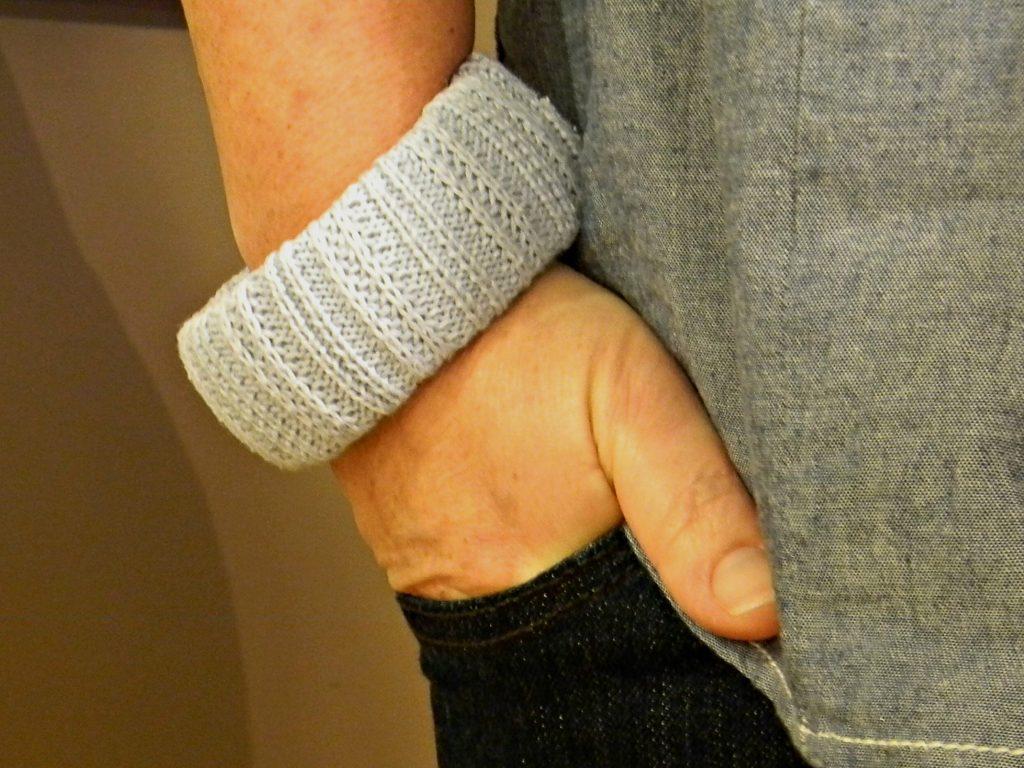 sweater bracelet fashion