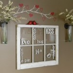 Valentine Word Window