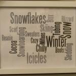Winter Subway Art