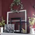 Waiting for Spring Mantel