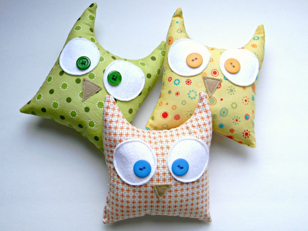 Owl Softies trio