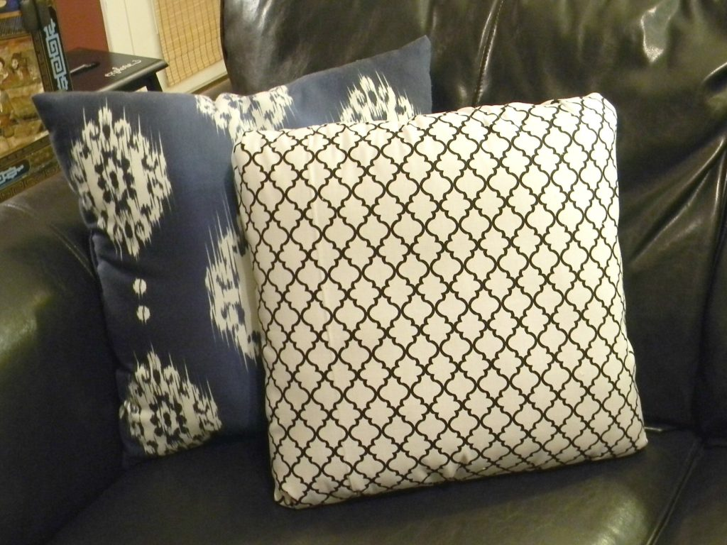 Easiest Pillow Cover Ever 11