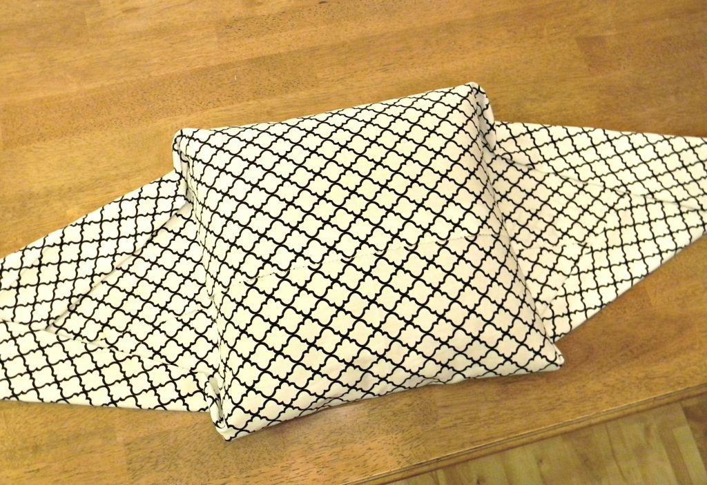 Easiest Pillow Cover Ever 2