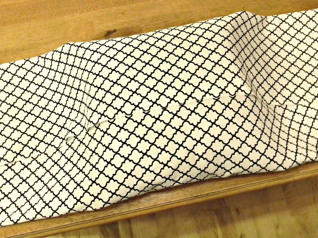Easiest Pillow Cover Ever 5