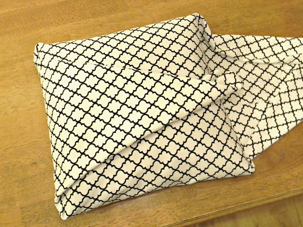 Easiest Pillow Cover Ever 6