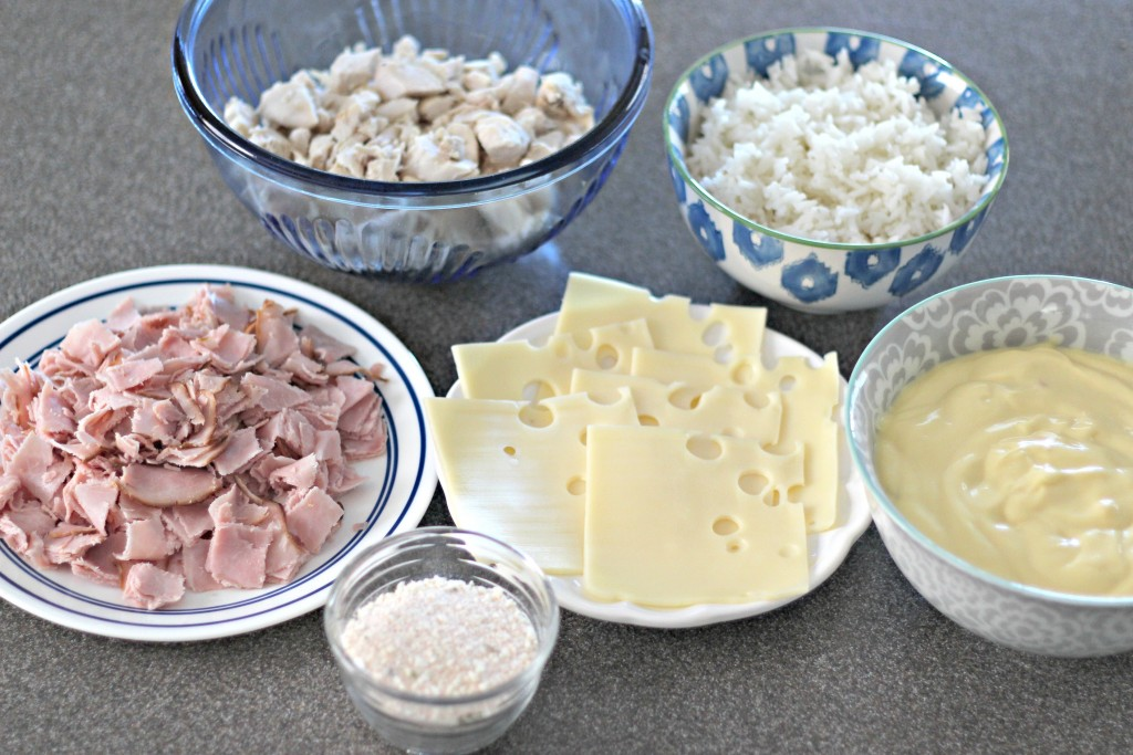 Chicken Casserole ingredients