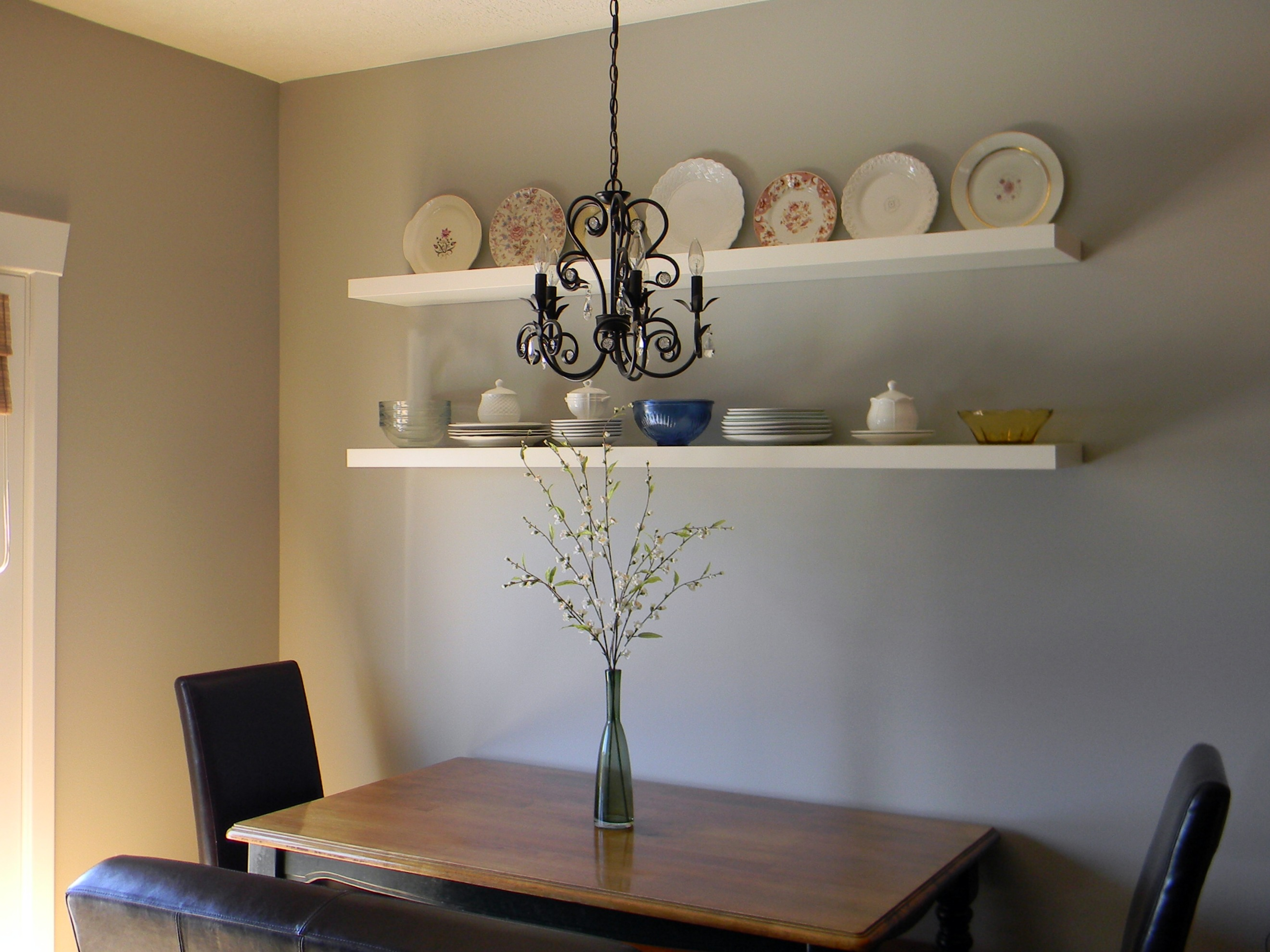 Dining area wall complete organize and decorate everything for Kitchen table wall decor
