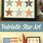 Patriotic Star Art