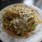 Sweet Pork Salad & Cilantro Lime Dressing