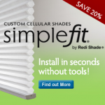 Simple Fit Custom Shades by Redi Shade
