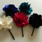 Quick Tip #8 – Fabric Flower Jewelry