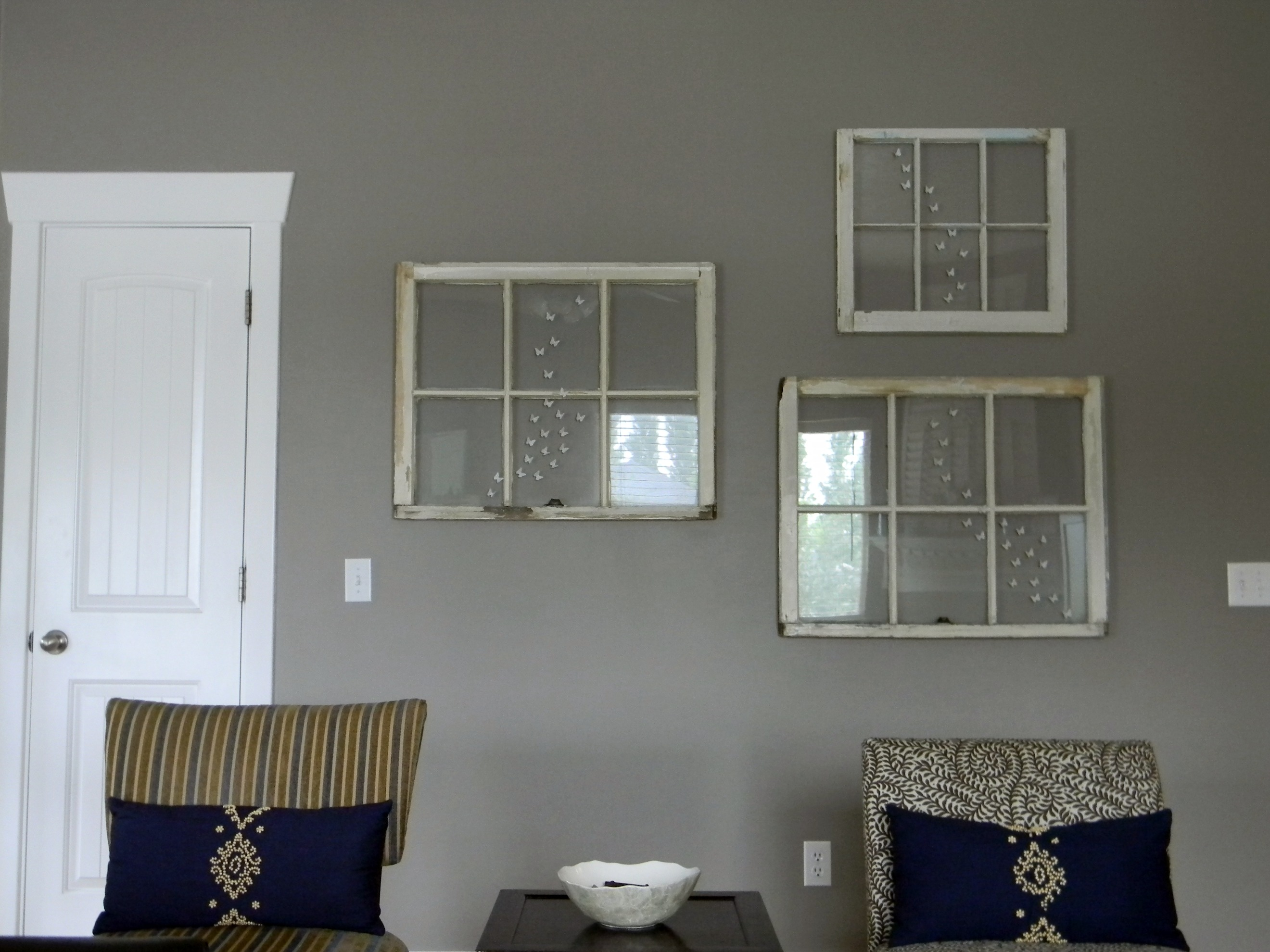 More Windows And A New Wall Color Organize And Decorate