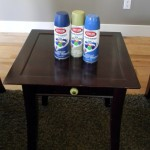 Painted Thrifted Table