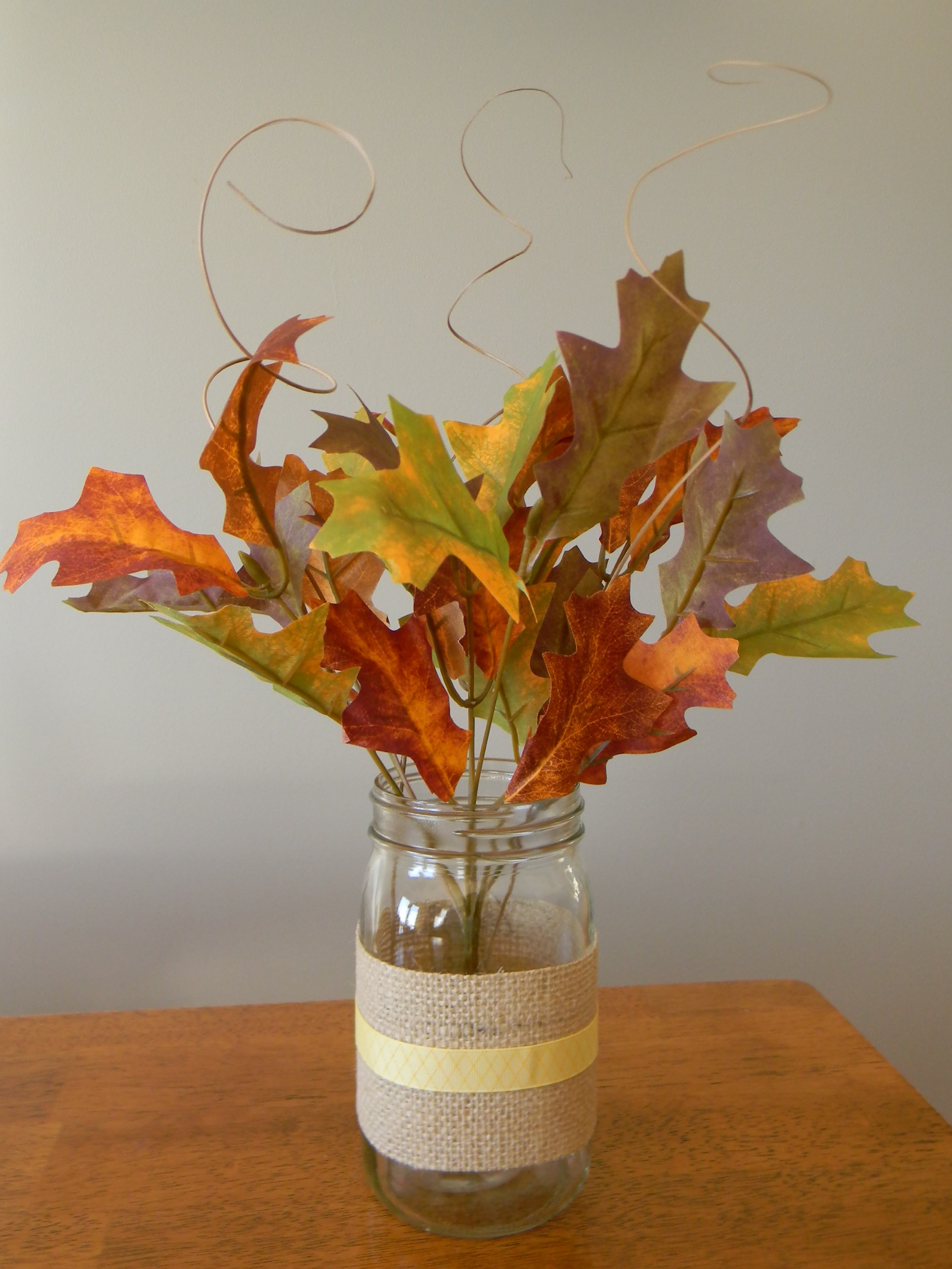 Simple Fall Wreath: Quick And Easy Fall Centerpiece