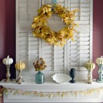 Early Autumn Mantel