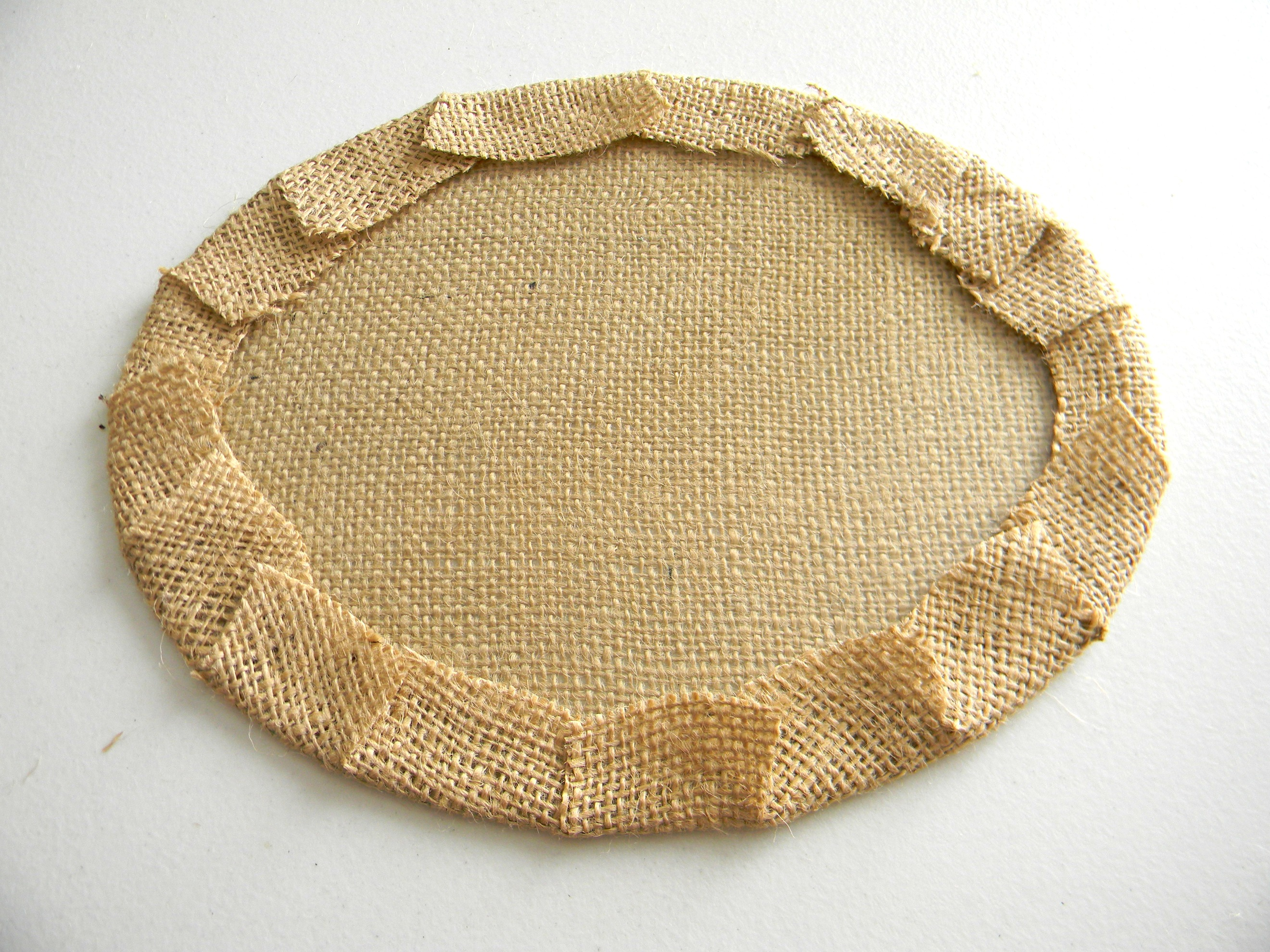 October point of view burlap organize and decorate for Burlap fabric projects