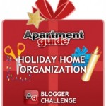 "Apartment Guide ""Holiday Home Organization"" Blogger Challenge and $100 AmEx Gift Card Giveaway"