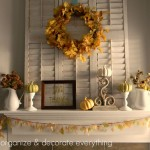 Thanksgiving Mantel