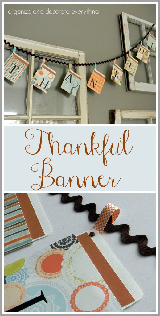 Thanksgiving Thankful Banner
