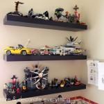 Shelves for Legos