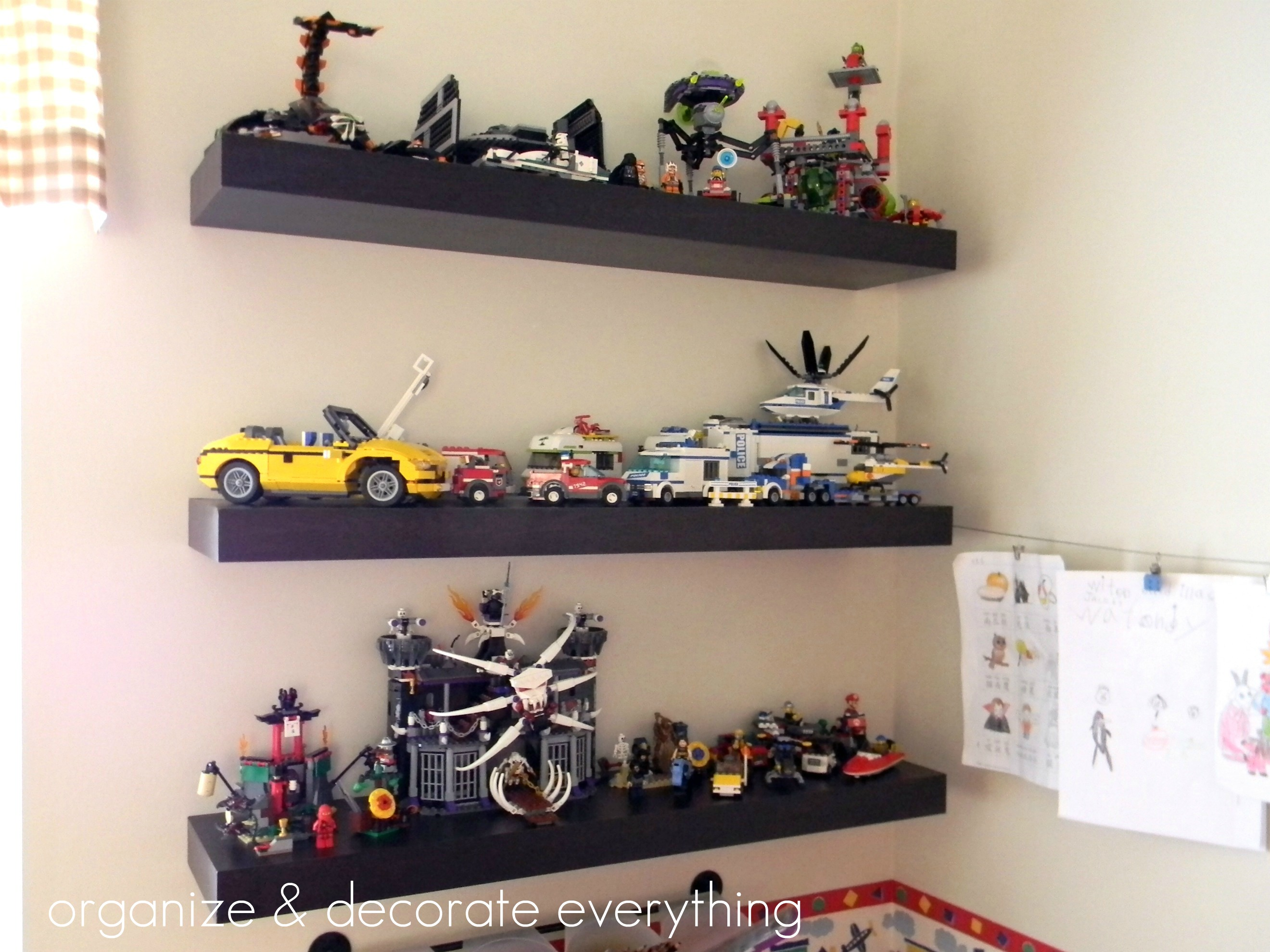 Shelves For Legos Organize And Decorate Everything