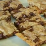 Chocolate Chip Crunch Bars made Gluten Free