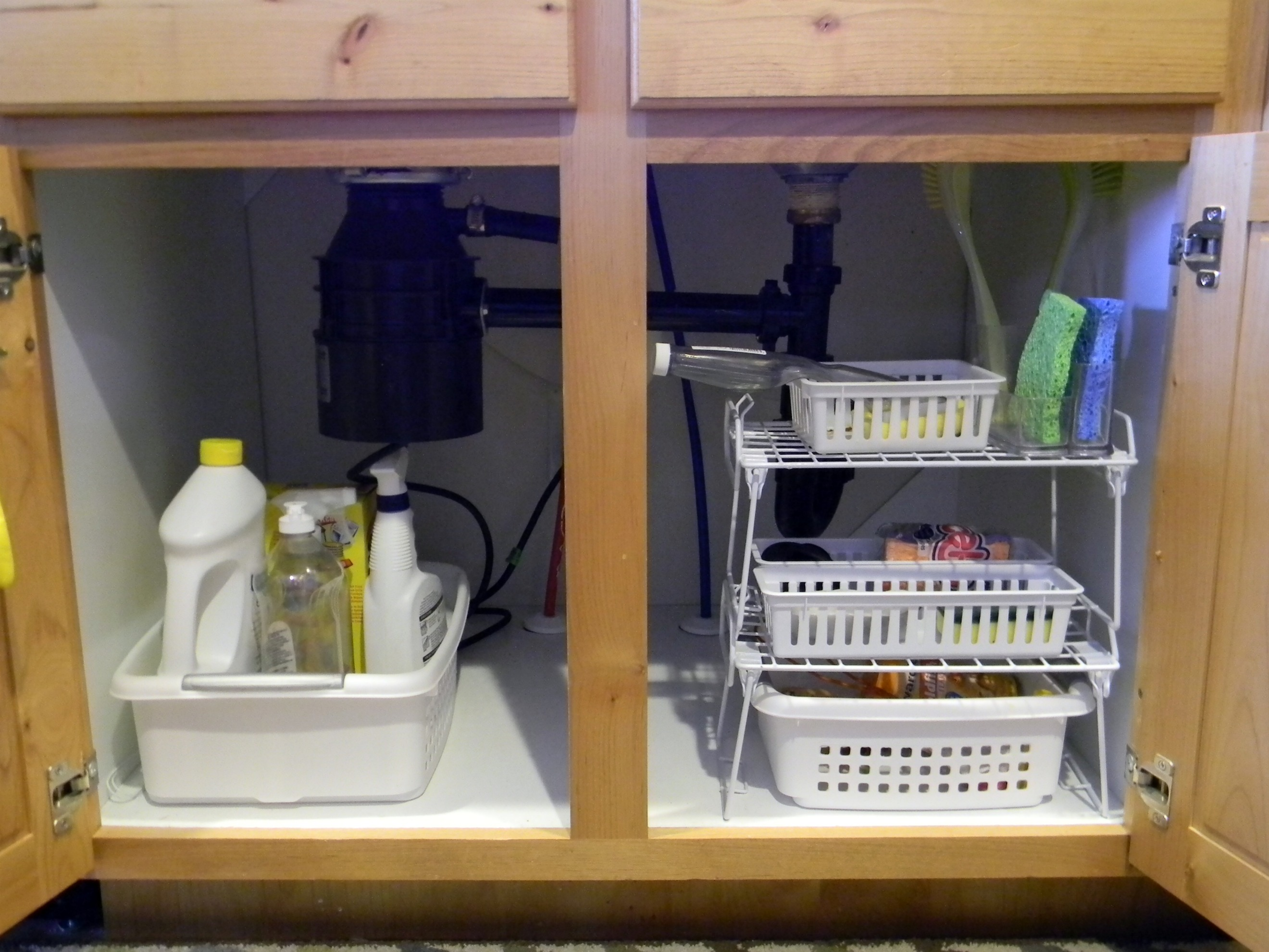 Under Kitchen Sink Organization Organize And Decorate