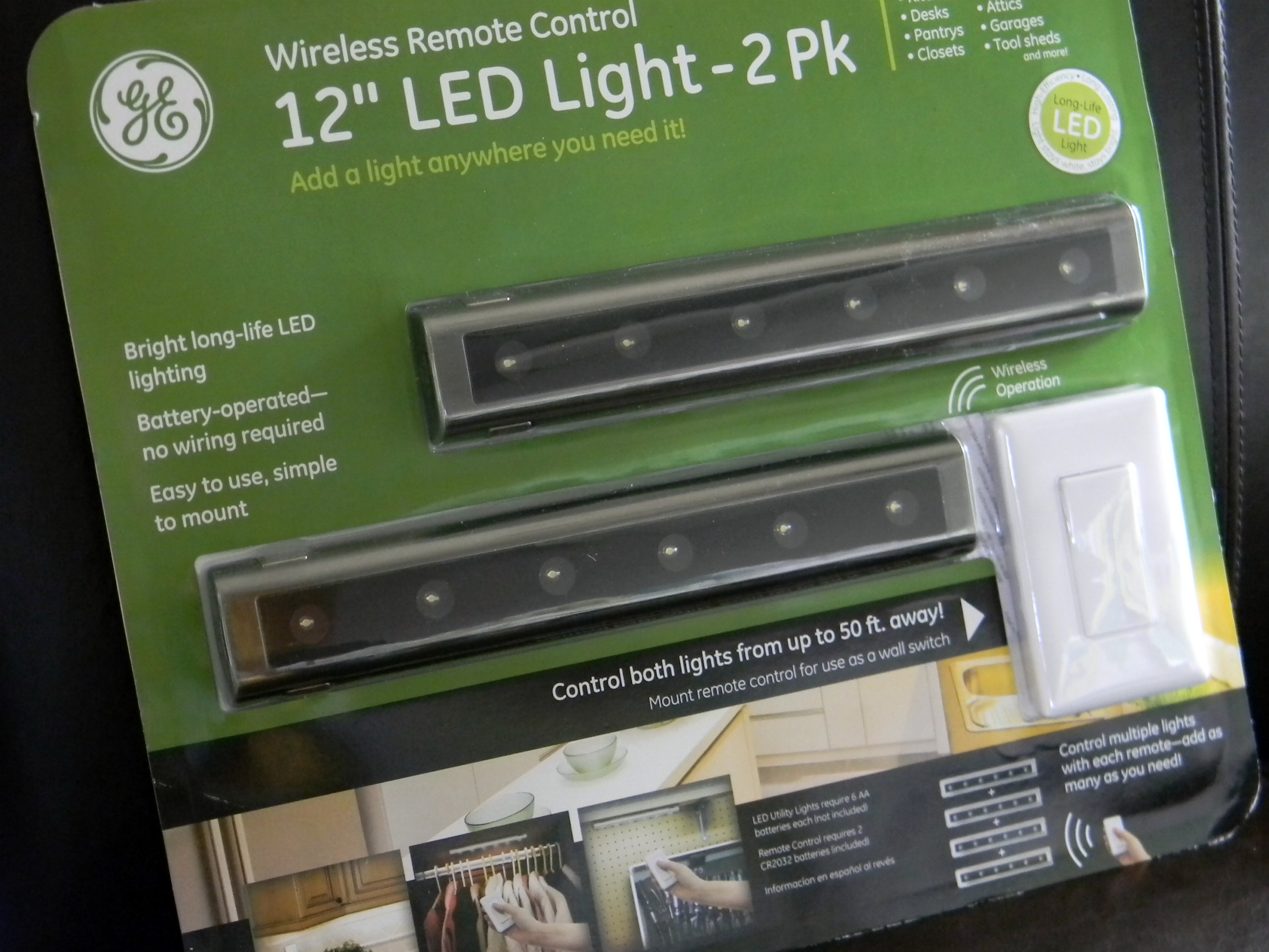 Under cabinet lighting organize and decorate everything - Battery operated kitchen cabinet lights ...