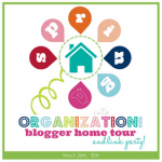 Spring Into Organization Link Party